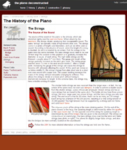 The Piano Deconstructed